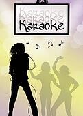 karaoke singer