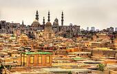 Bab El-Wazir cemetery in Cairo - Egypt
