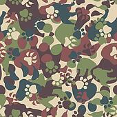 Dog Camouflage Pattern