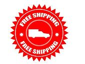Free shipping stickers