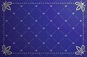 Vector blue vintage frame