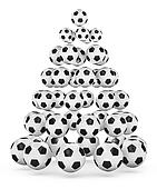 Soccer Themed Christmas Tree