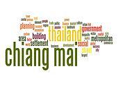 Chiang Mai word cloud