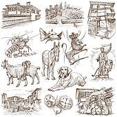 Bulgaria travel - An hand drawn pack
