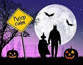 keep calm on Halloween