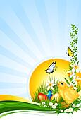 Background Easter - Hintergrund Ostern