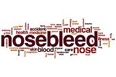Nosebleed word cloud