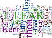 Word cloud - King Lear