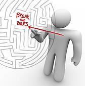Breaking the Rules - Arrow Through Maze