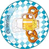 Oktoberfest Celebration round desi