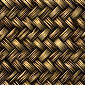 wicker basket weave