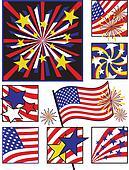 American Celebration in Solids
