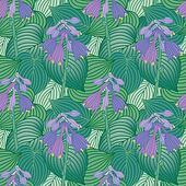 Flowering Hosta Pattern