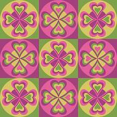 Folk Hearts_Pink-Green