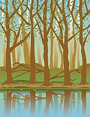 Four Seasons Forest-Spring