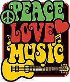 Peace Love Music_Rasta Colors