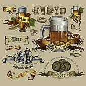 set of beer element