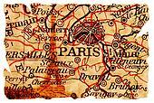 Paris old map