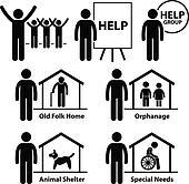 Non Profit Social Service Volunteer