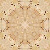 Seamless pattern, veneer poplar root