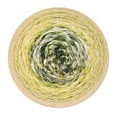 spherical view of country barley field