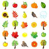 Autumn Symbols And Elements