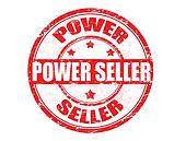 Power Seller stamp
