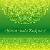 Abstract arabic background.  illustration