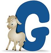 G for Goat