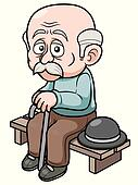 Old Age Clip Art - Royalty Free - GoGraph