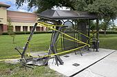 Destroyed Bus Stop
