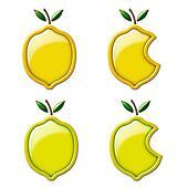 3D Lemon and Lime