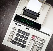 Old calculator - deficit