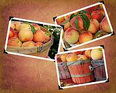 peach produce in snapshots