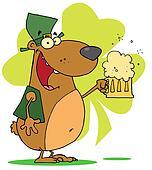 Happy St Patrick\'s Day Bear