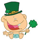 Baby St Patrick\'s Day
