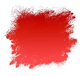 Red Grunge Paint Smear Background