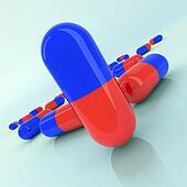 medicine pills illustration