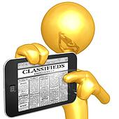 Touch Screen Employment Classifieds