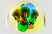 3d women face