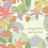 Seamless Leaf Background