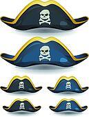 Pirate Hat Set