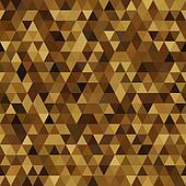 triangle imitation gold