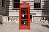 Classic Red British Telephone Box
