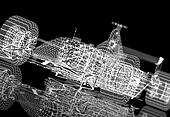Wireframe formula one