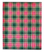 Chequer vintage copy book cover