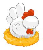 Cute Hen