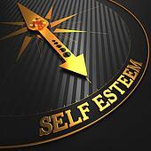 Self Esteem Concept.