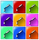 Syringe icons