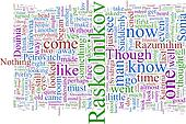 Word Cloud Based on Dostoyevsky's Crime and Punishment